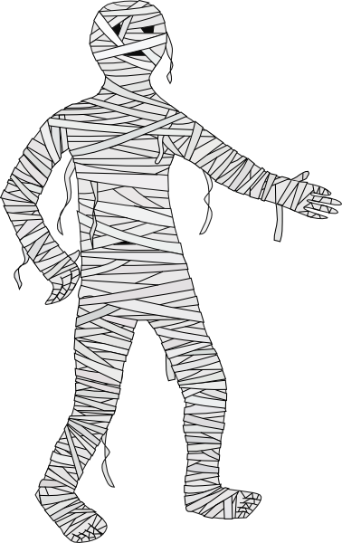 Gallery for animated mummy clip art image #22520.