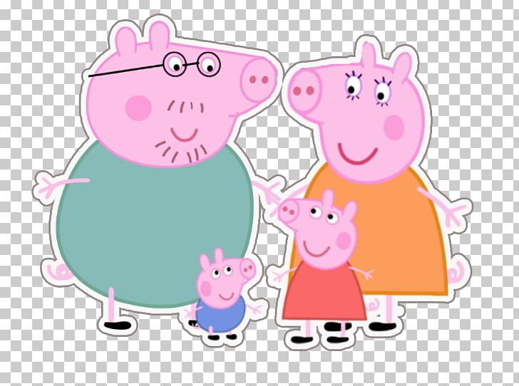 Mummy Pig Animated Cartoon PNG, Clipart, Animals, Animated Cartoon.