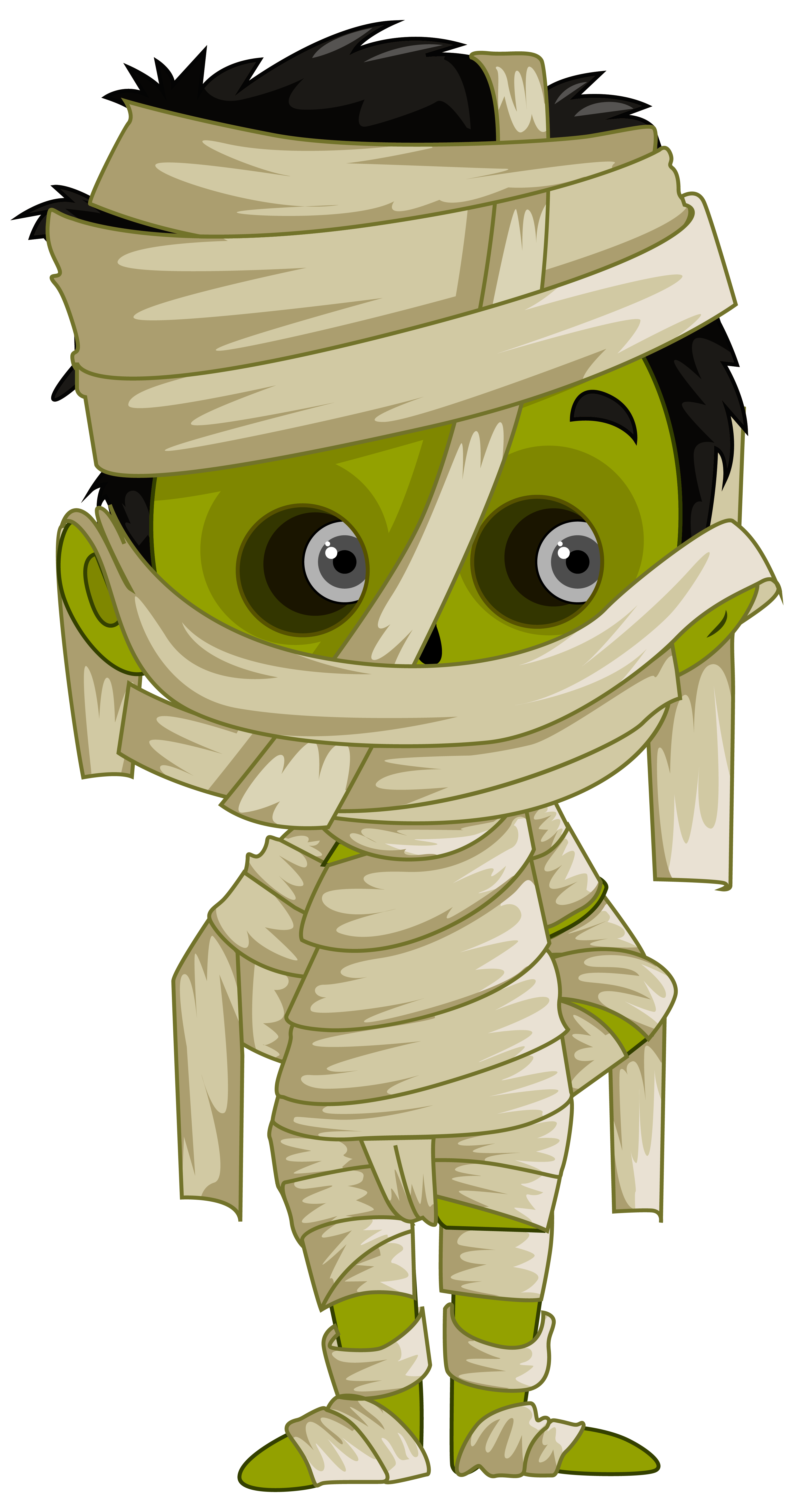 Mummy PNG Clipart Image.