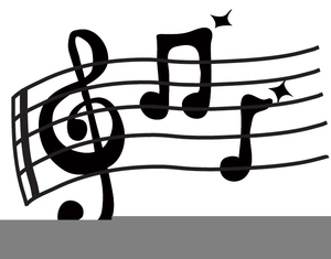 Animated Clipart Musical Notes.
