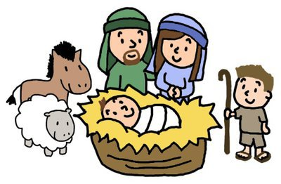 Animated Nativity Scene.