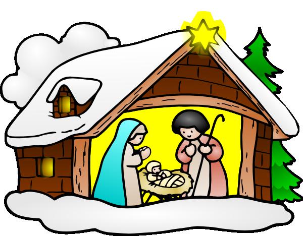 baby jesus christmas clipart #17