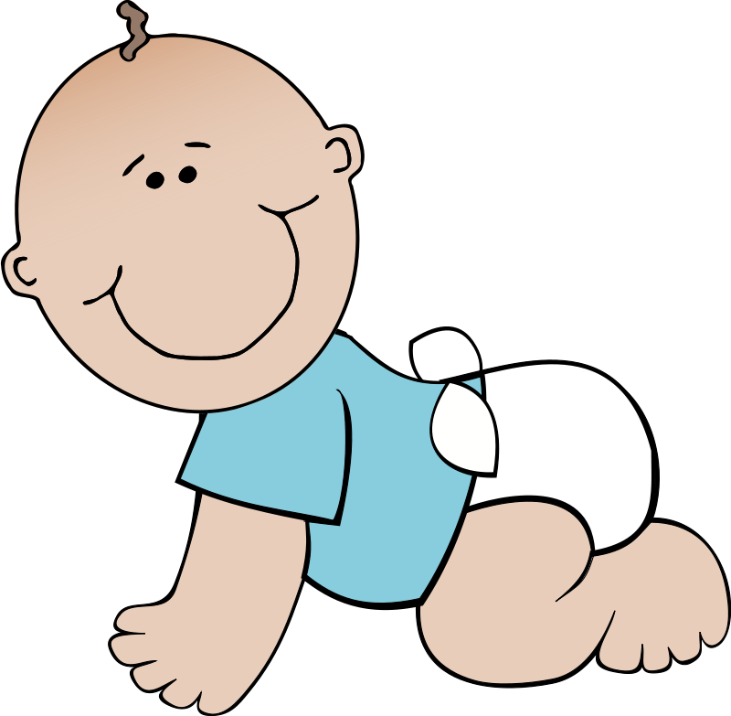 Animated clipart baby, Animated baby Transparent FREE for.