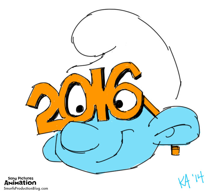 Sony Pictures Animation — smurfsproductionblog: SMURFY NEWS.