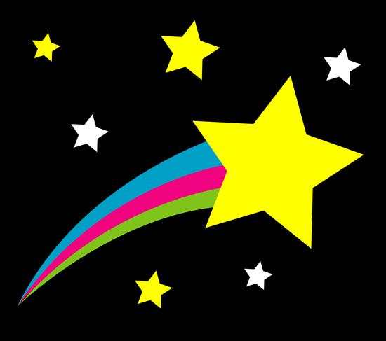free stars animated graphics.