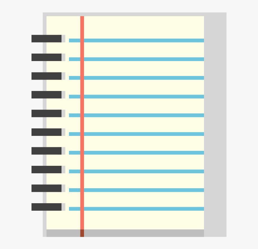 Page Clipart Composition Notebook.