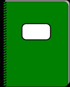 Spiral Notebook Clip Art at Clker.com.