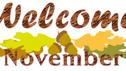 November clipart animated, November animated Transparent.