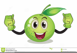 Animated Nutrition Clipart.