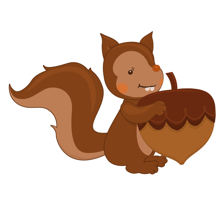 Squirrel With Nut PNG Transparent Squirrel With Nut.PNG.