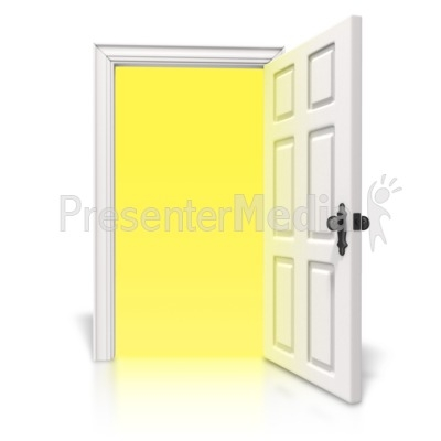 Animated Open Door Clipart Clipground