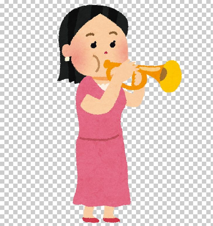 Trumpet Orchestra Cartoon ラッパ PNG, Clipart, Arm, Art.