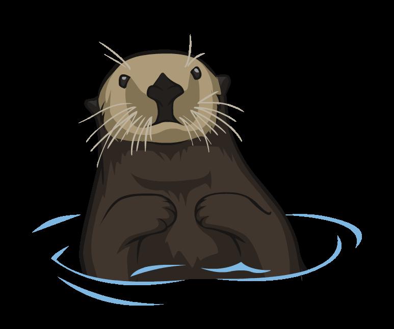 Otter clipart transparent, Otter transparent Transparent.