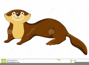 Animated Otter Clipart.