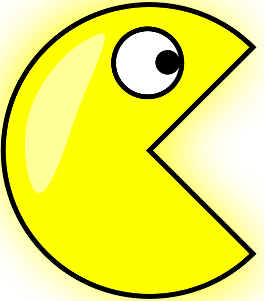 Animated pacman clipart Transparent pictures on F.