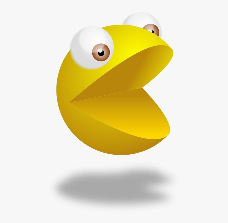 3d Pacman Png Gif , Free Transparent Clipart.