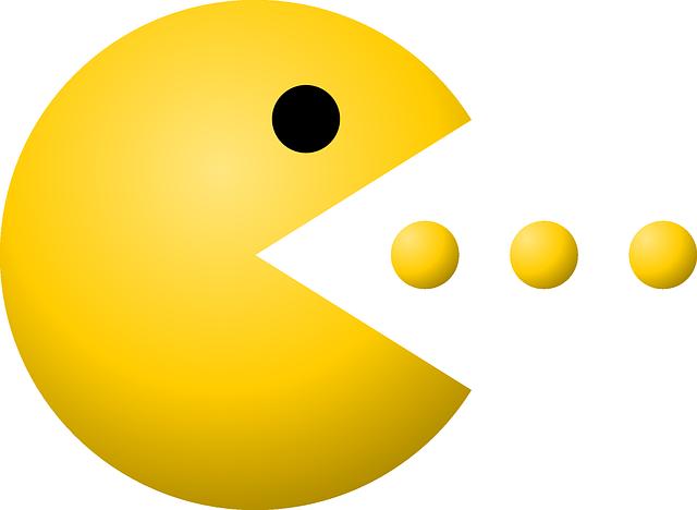 Pac Man Transparent PNG Images Free Download Pacman Clipart.