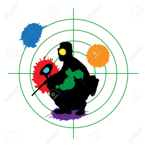 Animated Paintball Clipart.