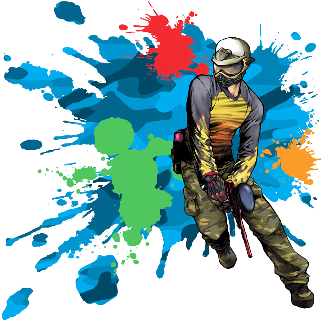 Paintball clipart cartoon, Paintball cartoon Transparent.