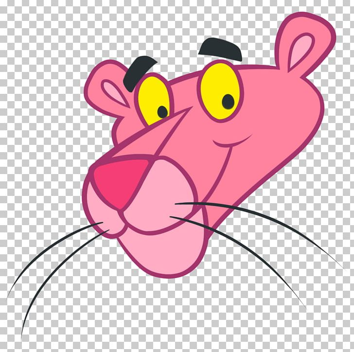 The Pink Panther Black Panther Cartoon PNG, Clipart.