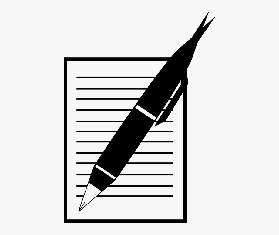 Pen And Paper Animation Clipart , Png Download.