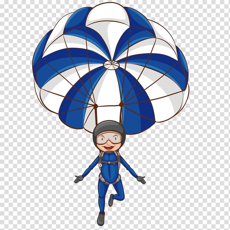 Parachute Parachuting , Parachute soldier transparent.
