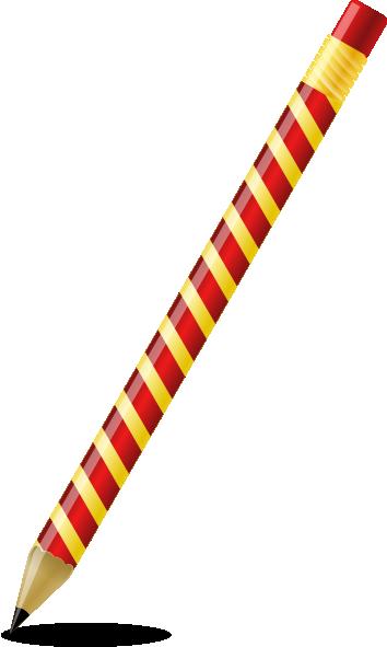 Animated pencil clip art clipart image 1 2.