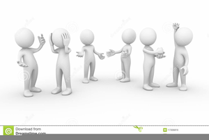 Free Animated Clipart Of People Talking.