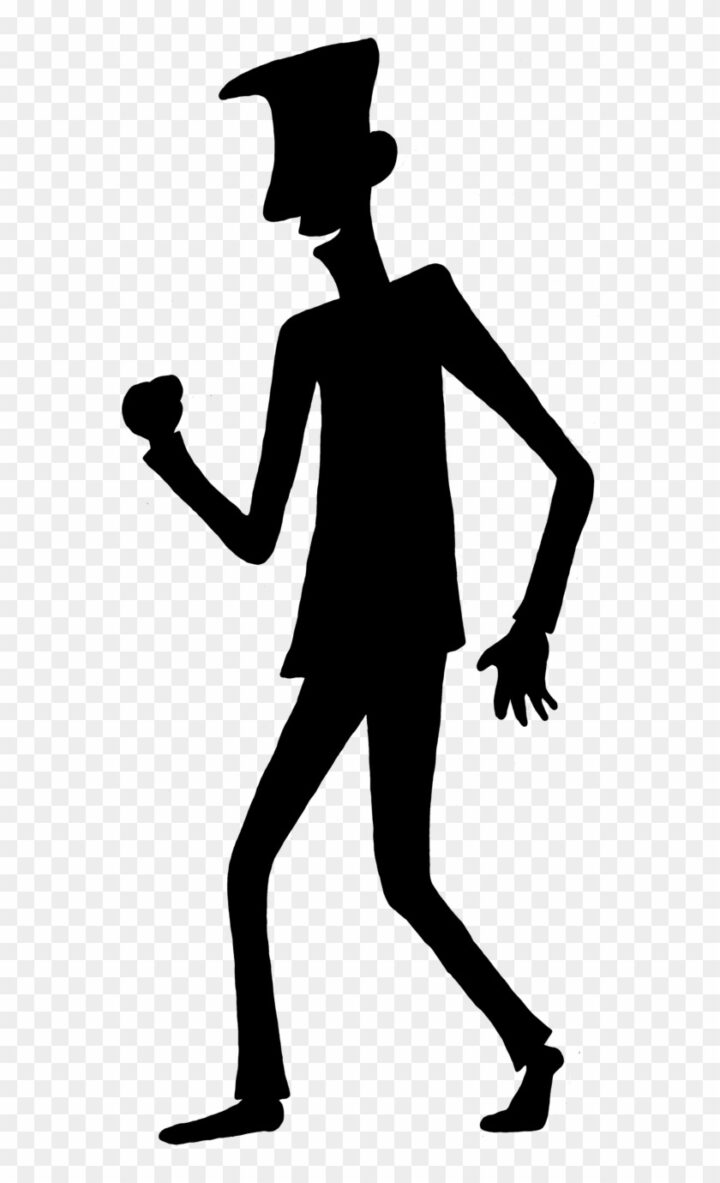 Person Outline Template Cartoon Person Shadow Image Provided.