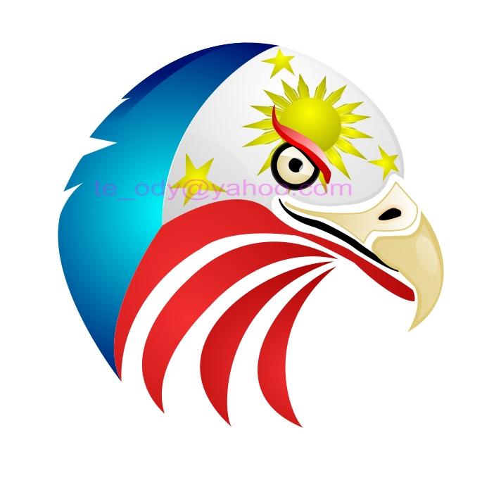 Philippine Eagle Clipart.