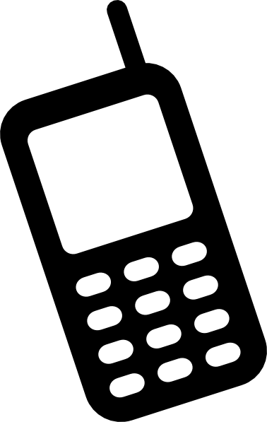 Cell phone animated phone clipart clipart kid.