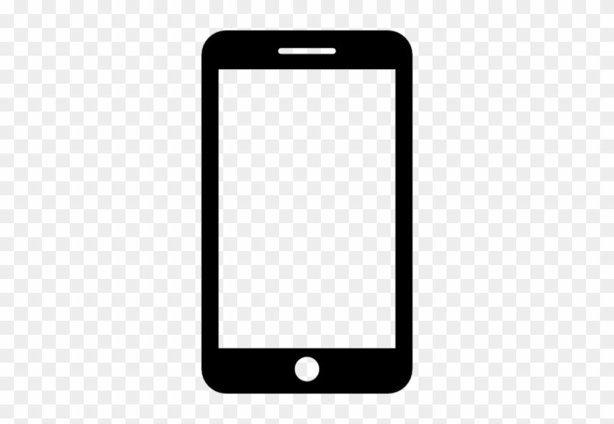 Smartphone Mobile Png Transparent Image.