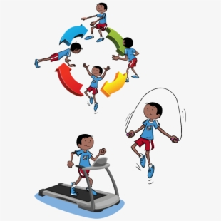 Physical Activity Clipart.
