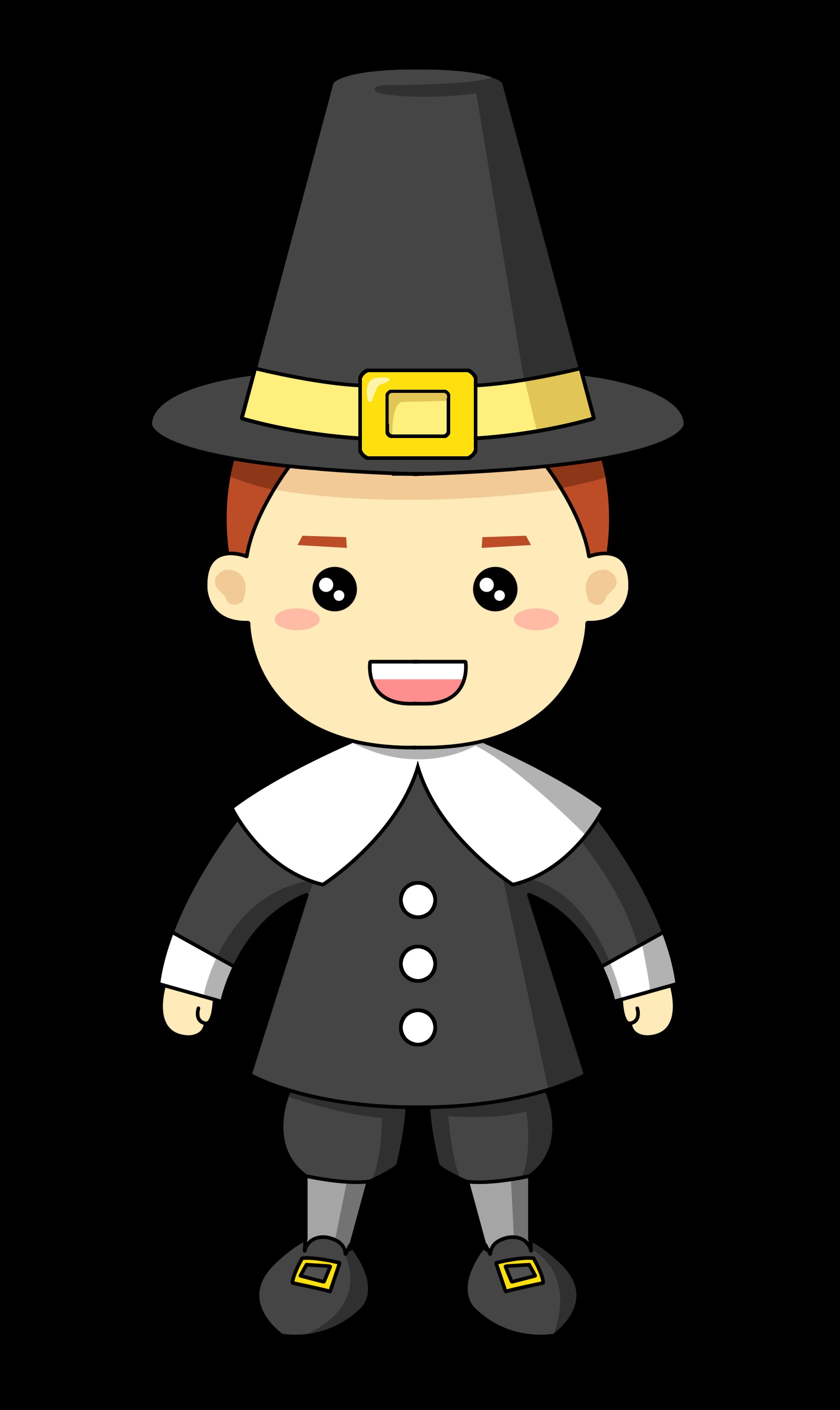 Pilgrim Clipart.