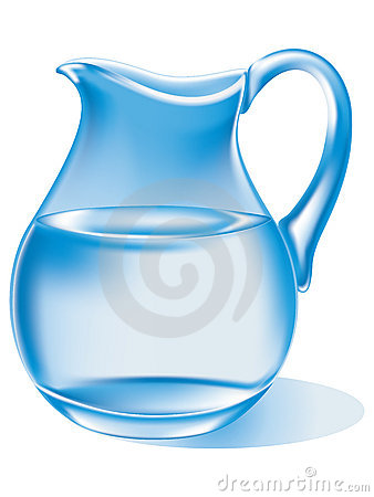 Water Jug Clipart.