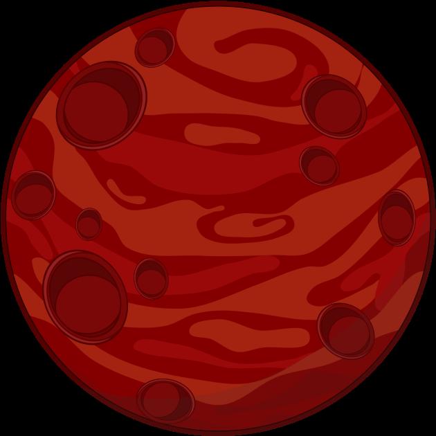 Cartoon Mars Diagram Animated Film Cartoon Planet Planet.