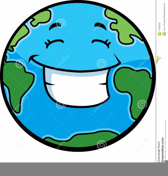 Animated Planet Clipart.