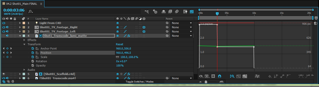 Animation basics in Adobe After Effects.
