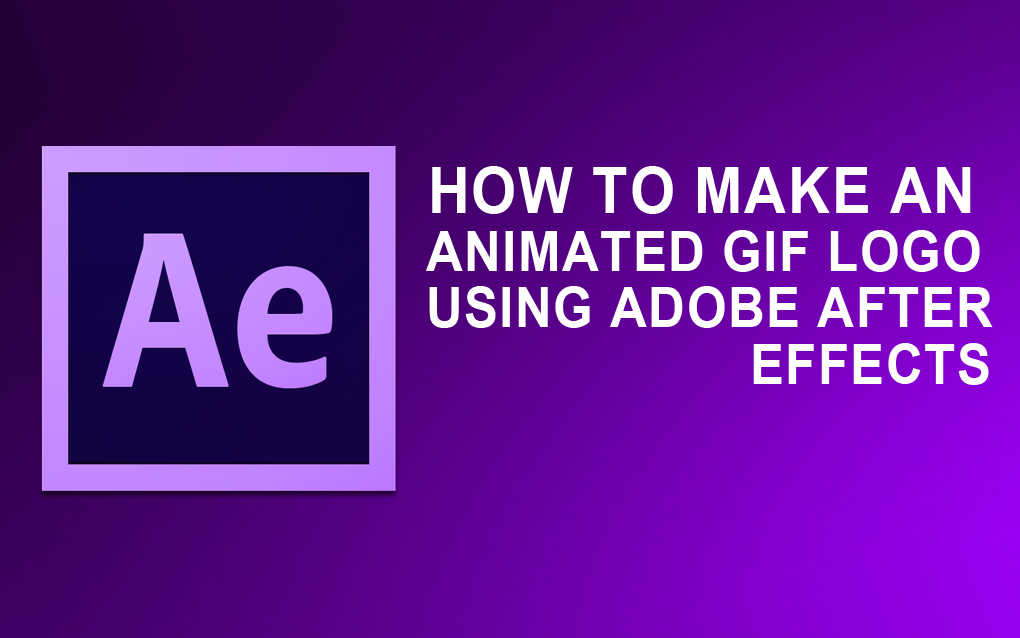 How To Make An Animated GIF Logo Using Adobe After Effects CS4 — Steemit.