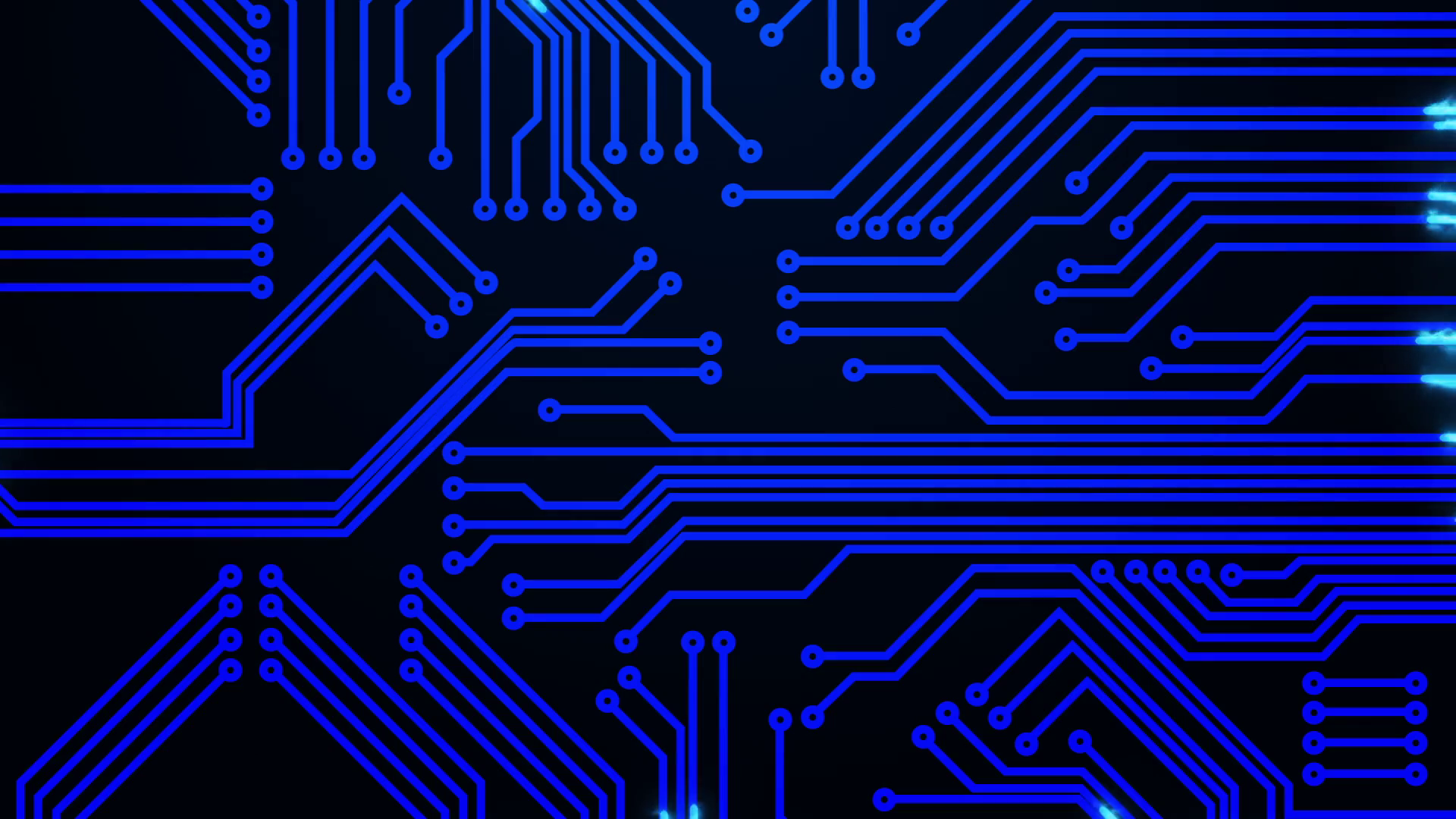 Circuit Board animations: Full HD After Effects animation with Trail lights  Motion Background.