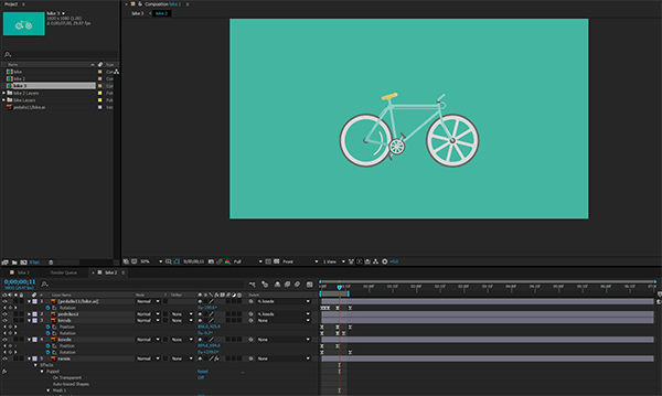 How to Export an Animated GIF using Adobe Photoshop and After.