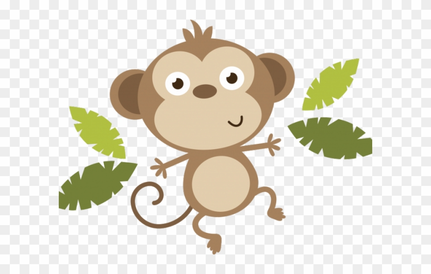 Year Of The Monkey Clipart Animated.