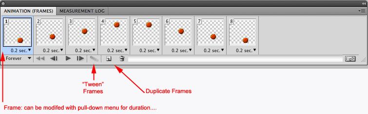 Adobe Photoshop/Making Animated GIF.