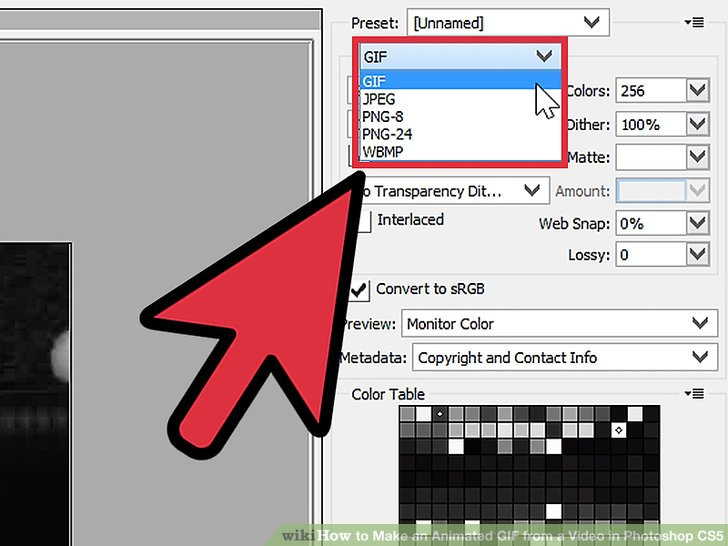 How to Make an Animated GIF from a Video in Photoshop CS5: 8 Steps.