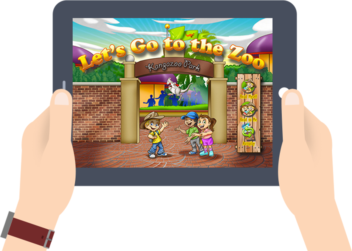 Animated ebook for iPad, Best App for Kids.