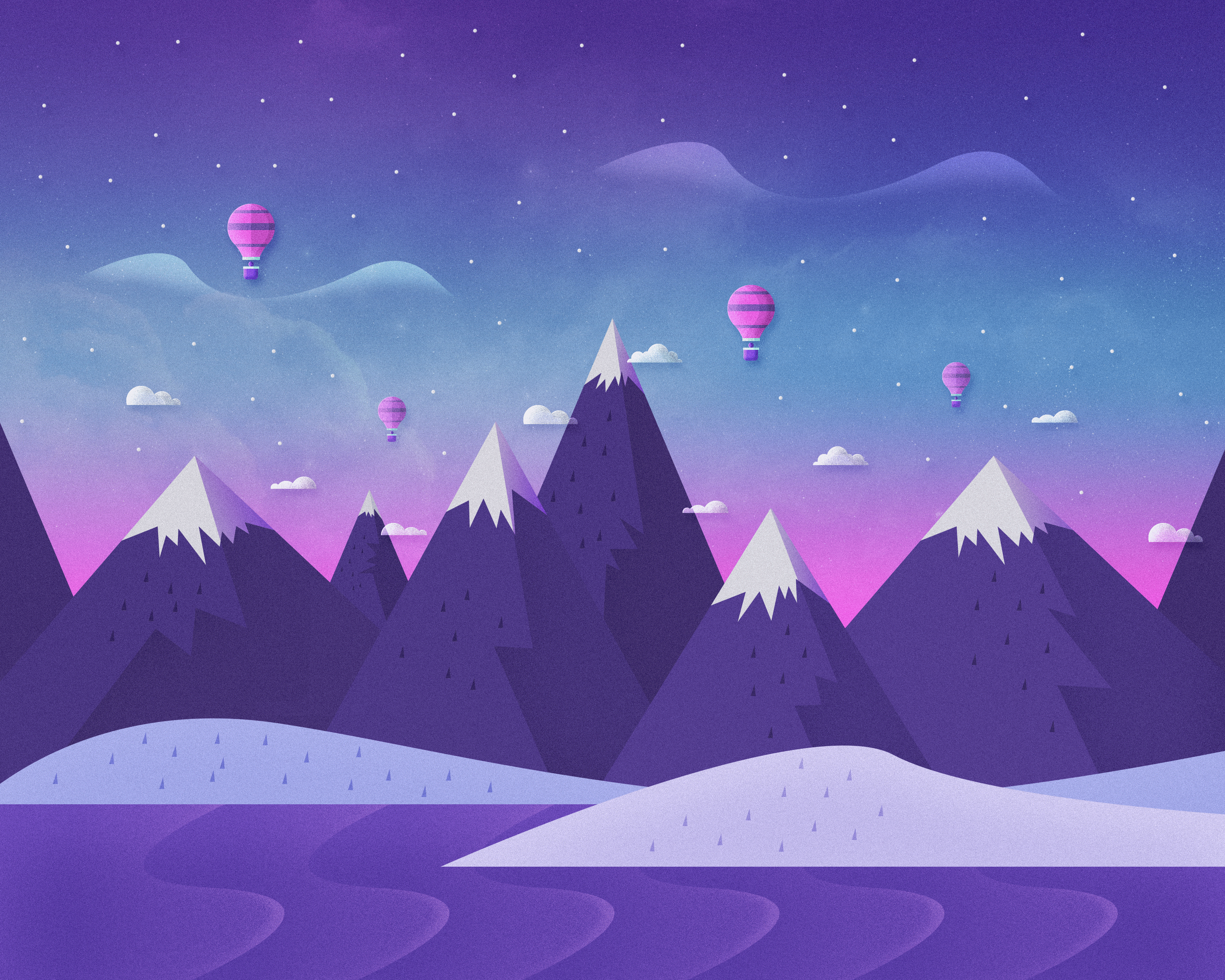 Wallpaper Wednesday: Animated Landscapes.