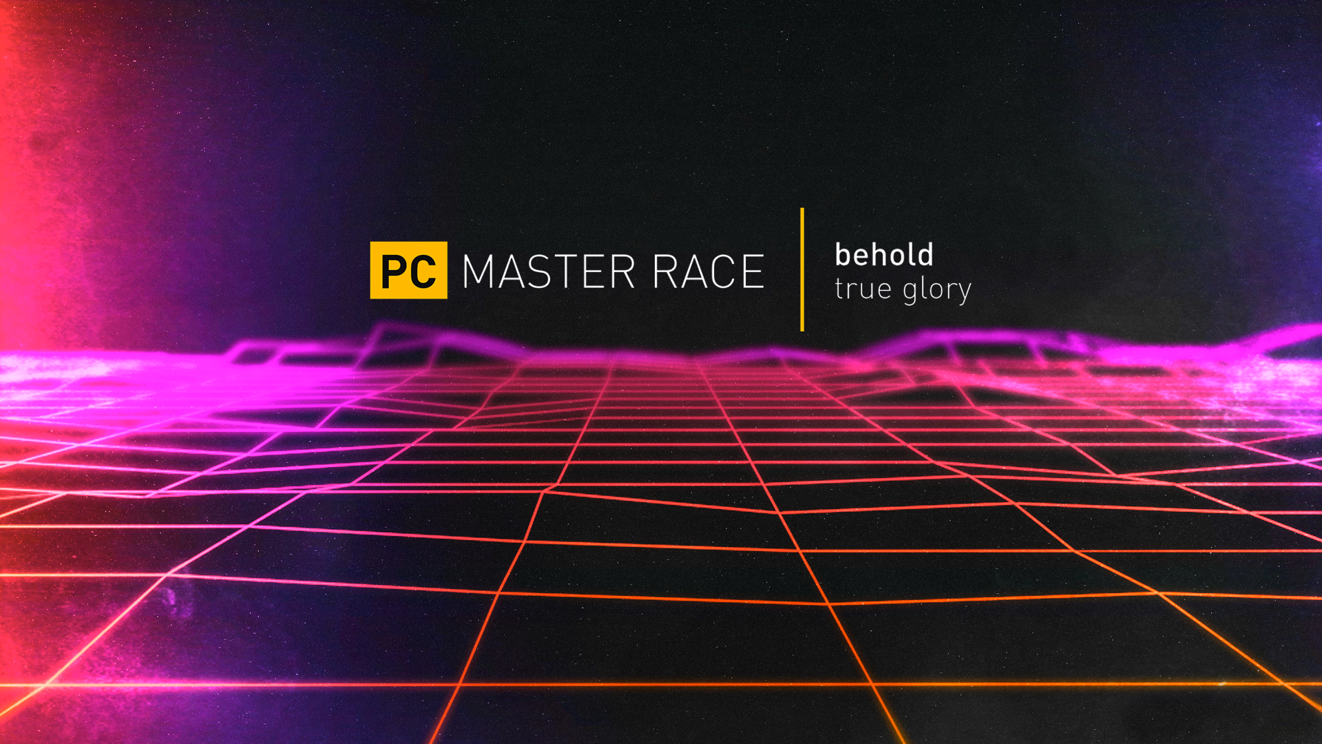 PCMR animated wallpaper.