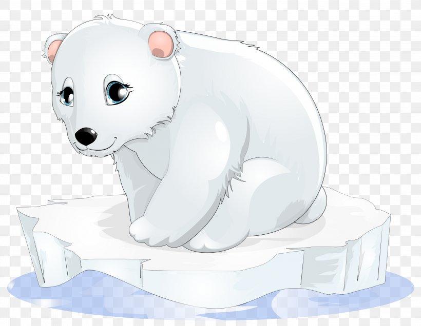 Polar Bear Cartoon Clip Art, PNG, 2999x2329px, Polar Bear.