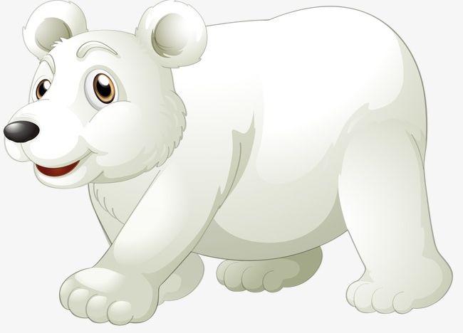 Cartoon Polar Bear PNG, Clipart, Animals, Bear, Bear Clipart.