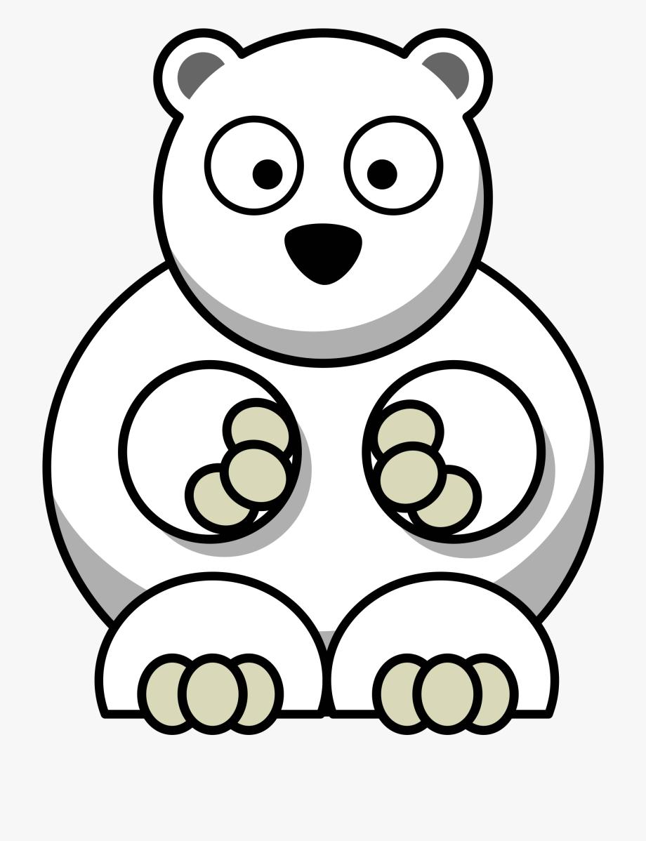 Cartoon Polar Bear Png , Transparent Cartoon, Free Cliparts.